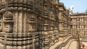 Konark soltempel - arkitektonisk skönhet av Indien Royaltyfria Foton