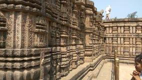 Konark soltempel - arkitektonisk skönhet av Indien Royaltyfria Bilder