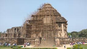 Konark Sun Temple - Architectural Beauty of India royalty free stock images
