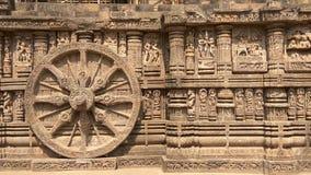 Konark Sun Temple - Architectural Beauty of India royalty free stock photography