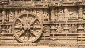 Konark Sun Temple - Architectural Beauty of India Stock Images