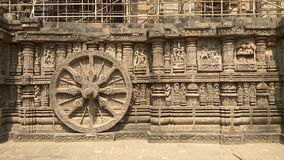 Konark Sun Temple - Architectural Beauty of India Royalty Free Stock Photography