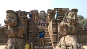 Konark Sun Temple - Architectural Beauty of India Stock Photo