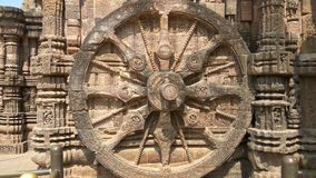 Konark Sun Temple - Architectural Beauty of India Royalty Free Stock Photo