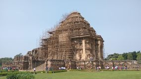 Konark Sun Temple - Architectural Beauty of India Stock Photo
