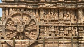 Konark Sun Temple - Architectural Beauty of India royalty free stock photo