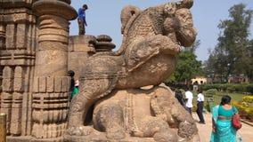 Konark Sun Temple - Architectural Beauty of India stock image