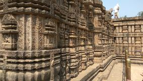Konark Sun Temple - Architectural Beauty of India Royalty Free Stock Image