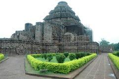 Konark Tempel von Orissa-Indien. Lizenzfreie Stockbilder