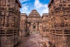 Konark tempelarkitektur Royaltyfri Foto