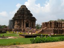 Konark temple Royalty Free Stock Photography