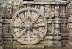 Konark wheel Stock Photos