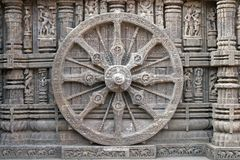 Konark Wheel Stock Images