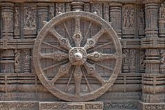 Konark Wheel Stock Photography