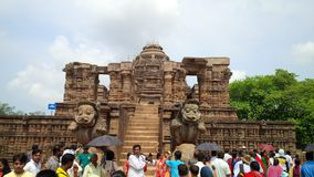 Konark, Zon tample royalty-vrije stock foto