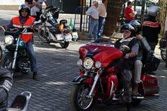 koncentracyjnego 04 rowerzysty Fotografia Royalty Free