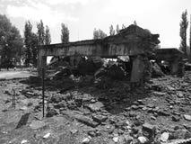 Koncentracyjny Auschwitz obóz Zdjęcie Stock