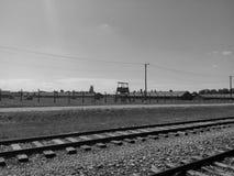 Koncentracyjny Auschwitz obóz Zdjęcia Royalty Free