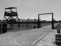 Koncentracyjny Auschwitz obóz Zdjęcie Royalty Free