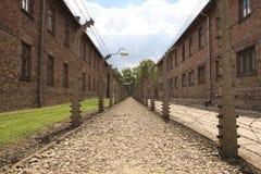Koncentracyjny obóz Oswiecim, Auschwitz -, Polska Zdjęcie Royalty Free