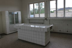 Koncentracyjny obóz Sachsenhausen, Berlin - Obraz Stock