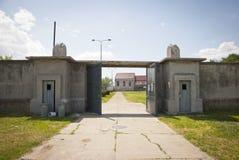 Koncentracyjny obóz w Nis, Serbia zdjęcia stock