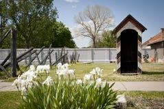 Koncentracyjny obóz w Nis, Serbia zdjęcie stock