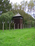 Koncentrationsläger Royaltyfria Foton