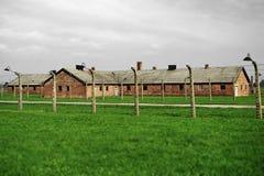 Koncentrationsläger - Auschwitz-Birkenau, historia Royaltyfria Foton