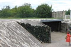 Koncentrationsläger av Sachsenhausen - Berlin Arkivbilder