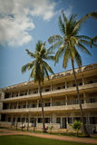 Koncentrationsläger S21 i Phnom Phen, Cambodja Fotografering för Bildbyråer