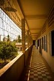 Koncentrationsläger S21 i Phnom Phen, Cambodja Arkivfoton
