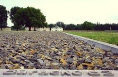 Koncentrationsläger Sachsenhausen Royaltyfria Bilder