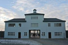Koncentrationsläger Sachsenhausen Fotografering för Bildbyråer