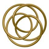 Koncentriska cirklar Arkivbild