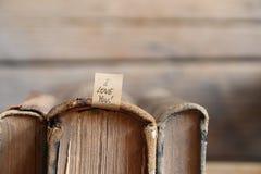 koncepcja cię kocham serce karty miłość kształtu walentynki Obraz Royalty Free