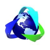 koncepcja ekologii Obrazy Stock