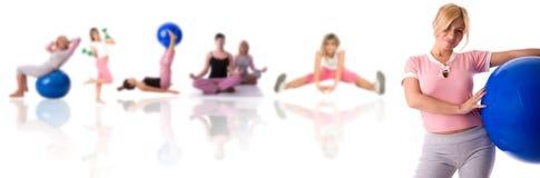koncepcja fitness Fotografia Royalty Free