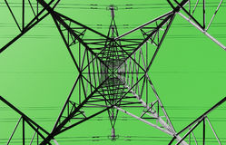 koncepcja green energii Zdjęcia Royalty Free