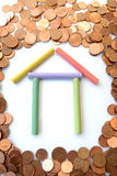 koncepcja hipoteka zdjęcia royalty free