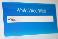 koncepcja internetu Zdjęcie Stock
