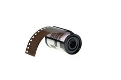 koncepcja kinematograficznej branży filmowej roll Zdjęcia Stock