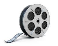 koncepcja kinematograficznej branży filmowej roll Obrazy Stock