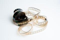 koncepcja kinematograficznej branży filmowej roll Zdjęcie Stock