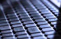 koncepcja komputerowy wchodzi interrrogation kluczowe pytanie klawiaturowy otrzymuje żółty Fotografia Stock