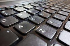 koncepcja komputerowy wchodzi interrrogation kluczowe pytanie klawiaturowy otrzymuje żółty Zdjęcie Royalty Free