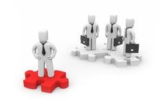 koncepcja lidera biznesu ilustracji