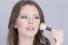 koncepcja mody makijaż modelu kobieta Zdjęcie Stock