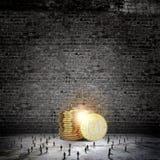koncepcja nieruchomości prawdziwe odbicie domu pieniądze Zdjęcie Stock
