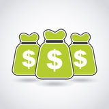 koncepcja nieruchomości prawdziwe odbicie domu pieniądze Obraz Stock